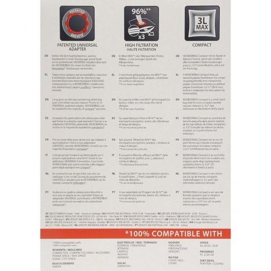 ROWENTA WB305120 WONDERBAG X5