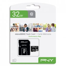 PNY P-SDU32G10PPL-GE microSDHC 32GB